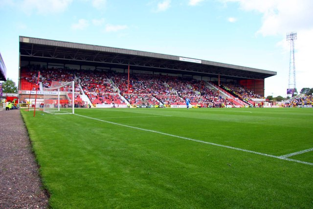 The Arkells Stand at the County Ground