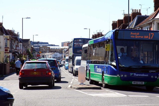 A busy Manchester Road