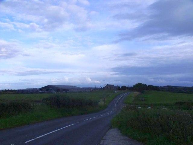 Dyke, Slamannan to Falkirk road