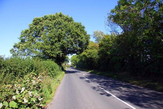 The road to Shrivenham