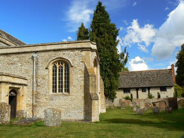 Churchyard, St Mary's Church, Childrey