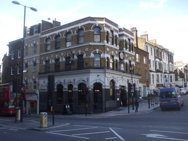 Union Tavern, Kings Cross Rd, London