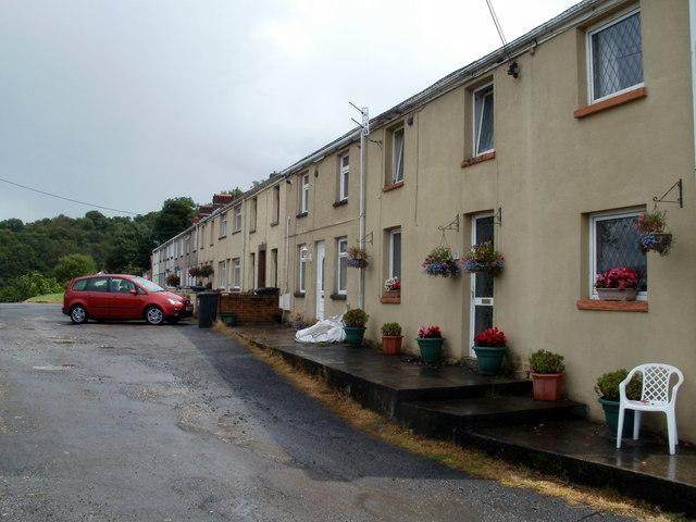 Heol y graig houses, Cwmgwrach