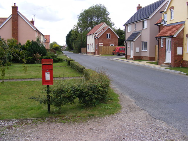 Post Office Kenton Forge Postbox