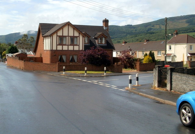 Corner of Heol Wenallt and Fothergill Road, Cwmgwrach