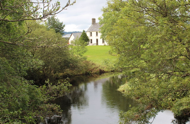 Dunadd farmhouse