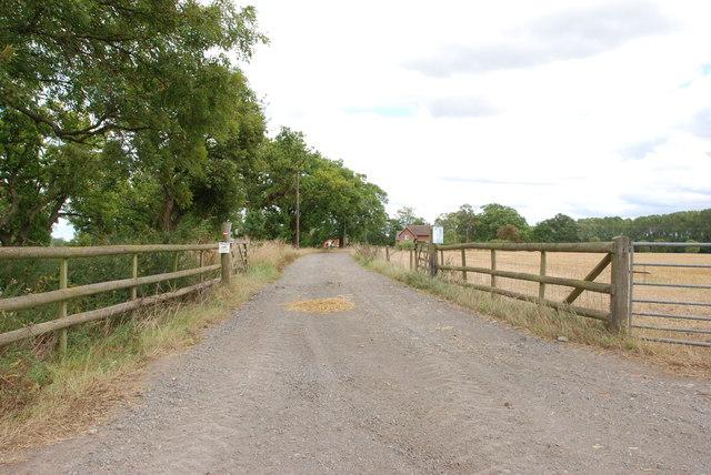 Entrance to a Farm