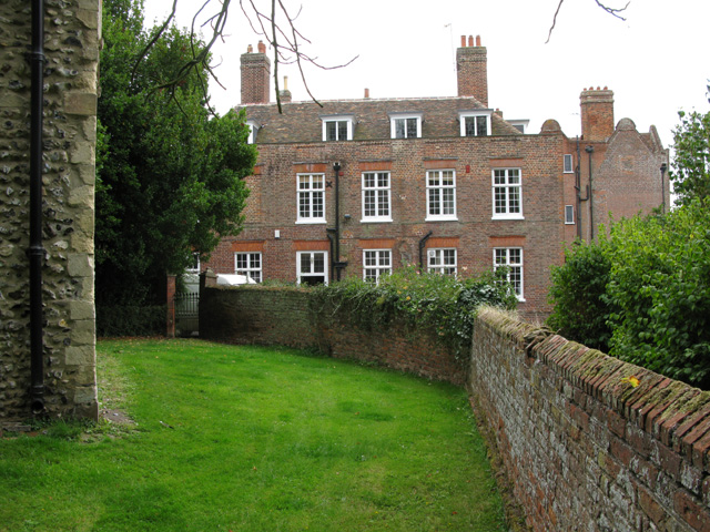 Knowlton Court from St Clement church yard