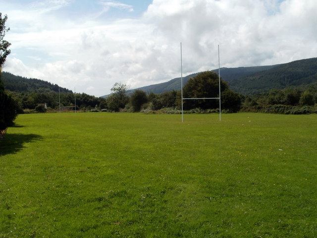 Rugby pitch, Cwmgwrach
