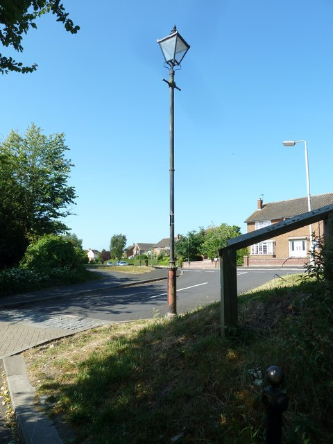 Lamppost in Gainsborough Mews