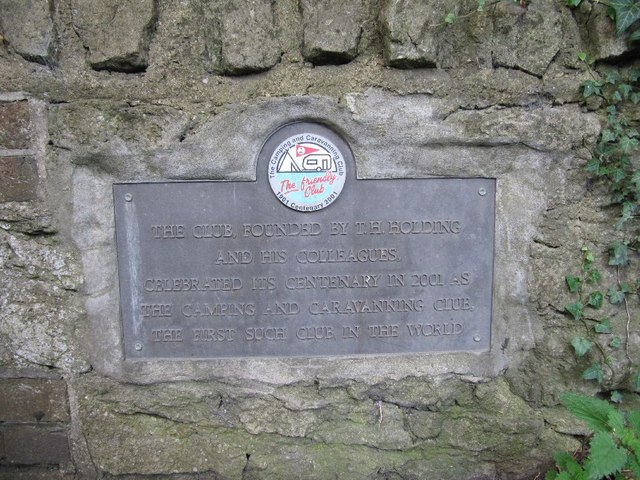 Centenary plaque