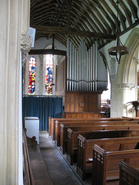 Interior view of the North Aisle, Holy Cross church