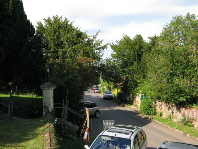 View along The Street, Goodnestone