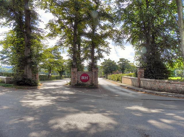 Entrance to Bredbury Hall