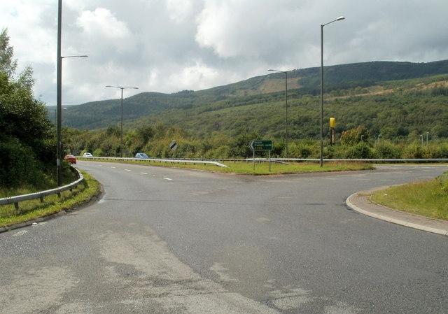 A465 north of Cwmgwrach