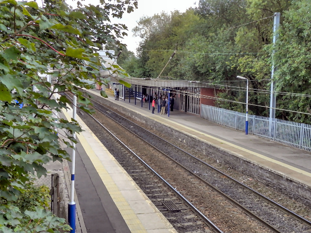 Hazel Grove Railway Station
