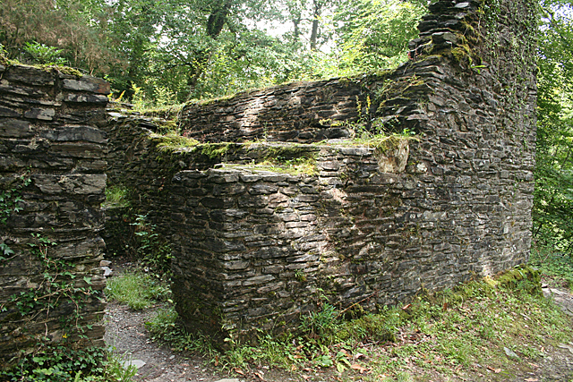Plymouth: engine house ruin