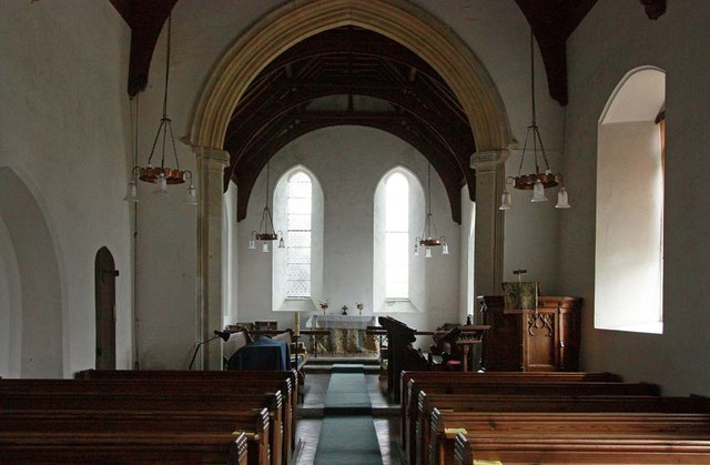 St Mary, Rushall - East end