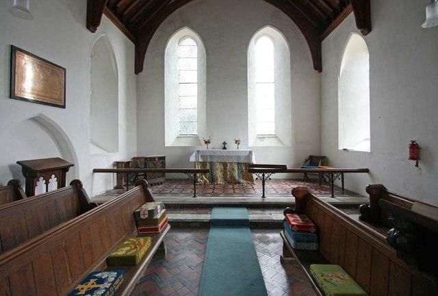 St Mary, Rushall - Chancel