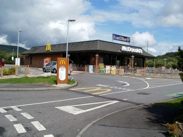McDonald's near Glynneath