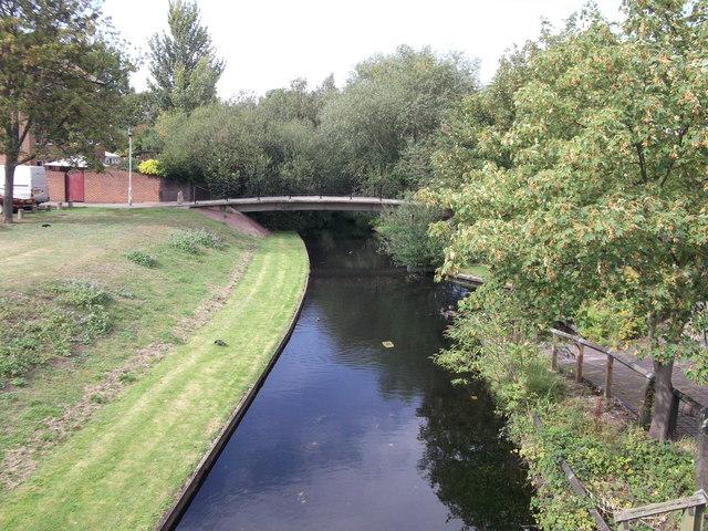 Footbridge Near Curlew Close