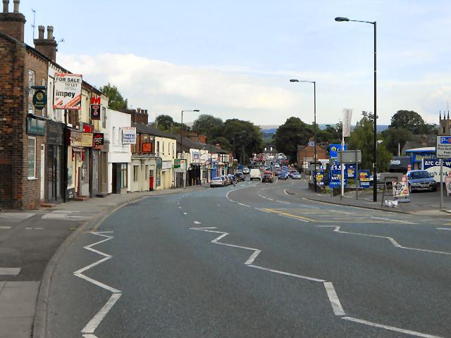 London Road (A6), Hazel Grove