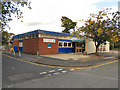 SJ9286 : Hazel Grove Library by David Dixon