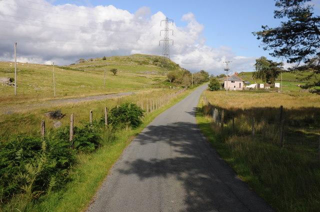 Road through Arenig