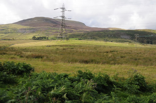 View to Arenig Fach