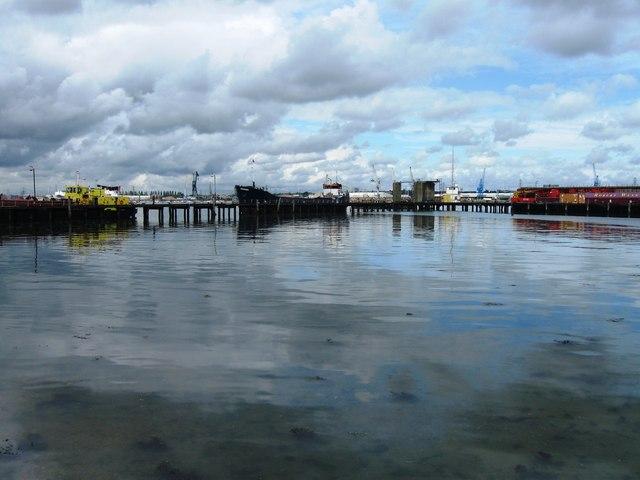 Pier at Cracknore Hard