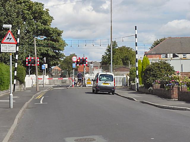 Woodsmoor Lane Level Crossing