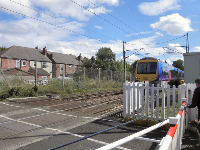 Woodsmoor Lane Level Crossing