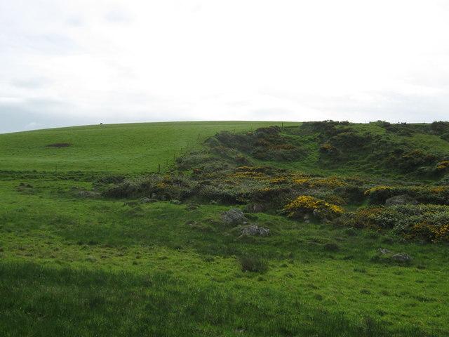 Glen Hill seen from near March Port