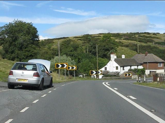 Trouble at Cornbrook corner, A4117