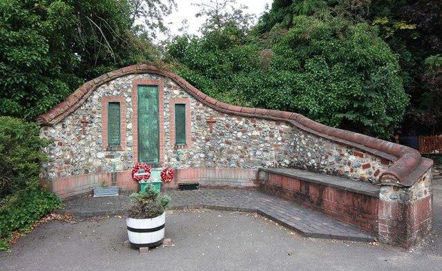 St Cuthbert, Sprowston, Norwich - War Memorial