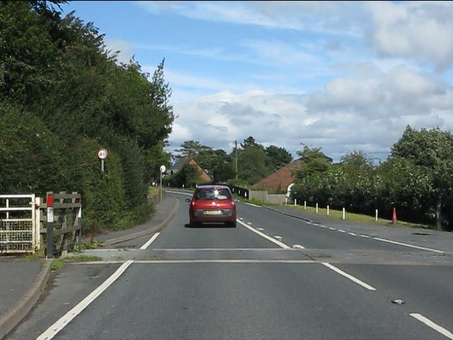 Doddington cattle grid, A4117