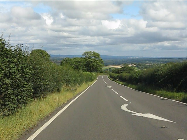 A4117 east of Doddington