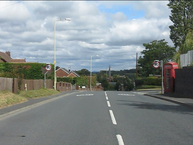 A4117 in Cleobury Mortimer