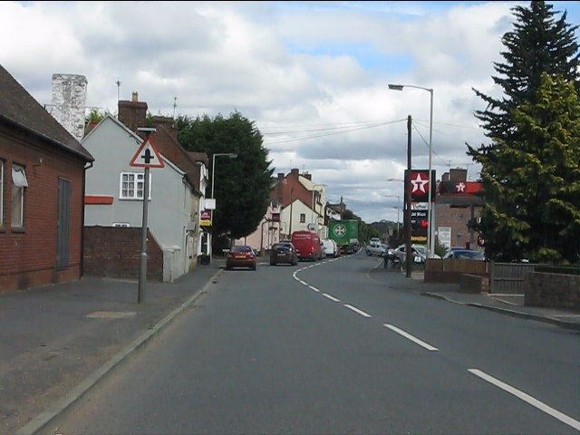 Cleobury Mortimer - the west end