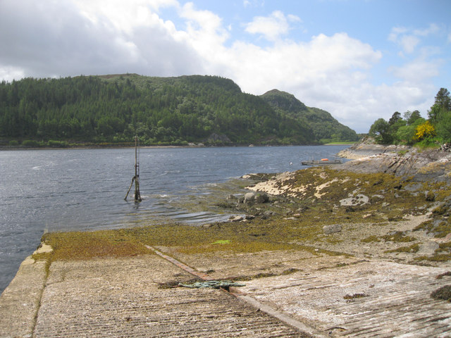North Strome slipway