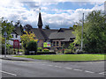 SJ8985 : Bramhall United Reformed Church by David Dixon