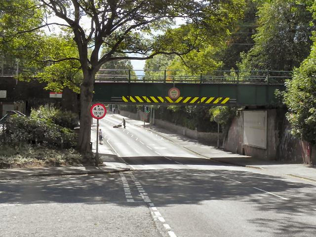 Bridge at Bramhall Station
