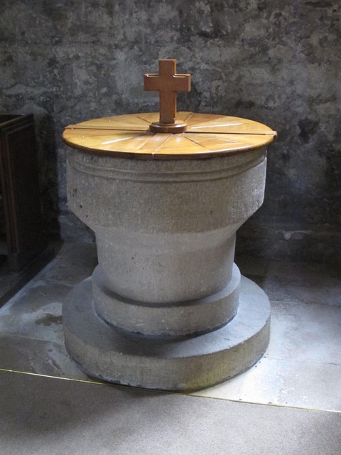 The Church of St. Mary The Virgin - font