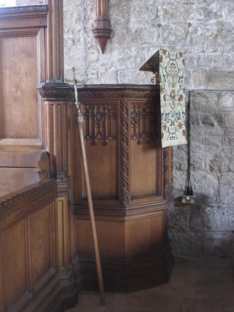 The Church of St. Mary The Virgin - pulpit