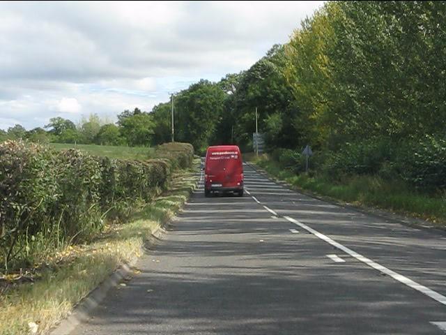 A4117 near Mawleytown Farm