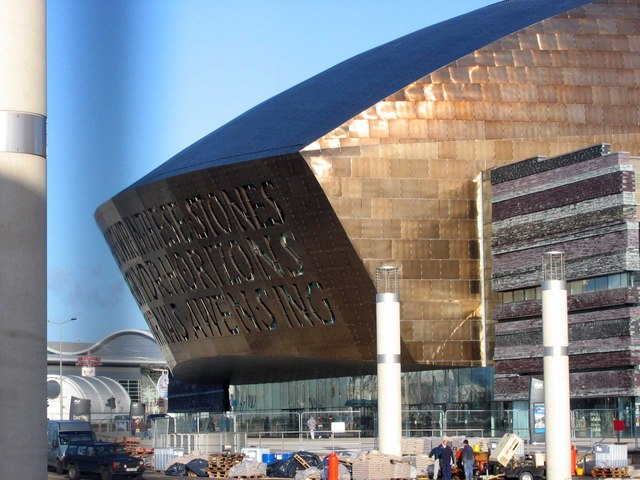 Welsh Millennium Centre, Cardiff Bay