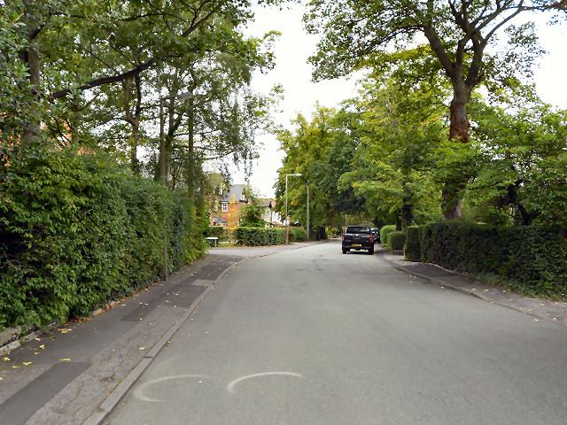 Swann Lane, Cheadle Hulme