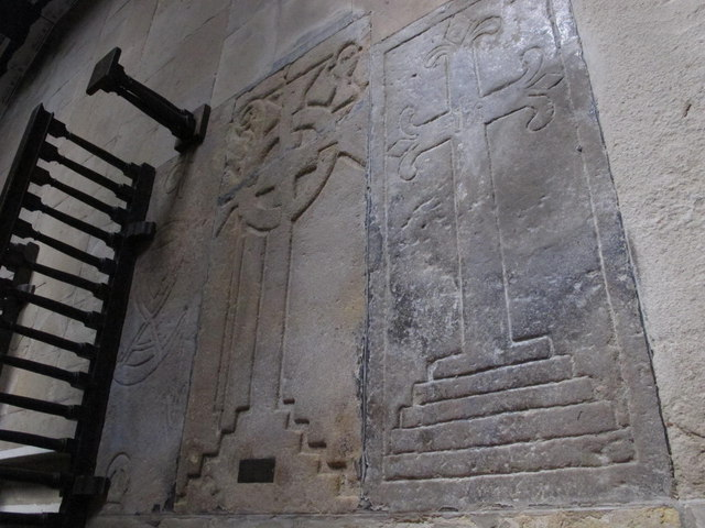 The Church of St. Mary The Virgin - mediaeval tombstones