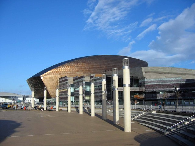 The Welsh Millennium Centre, Cardiff Bay