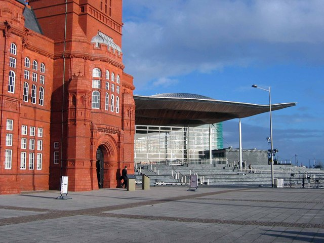 Victorian and modern, Cardiff Bay
